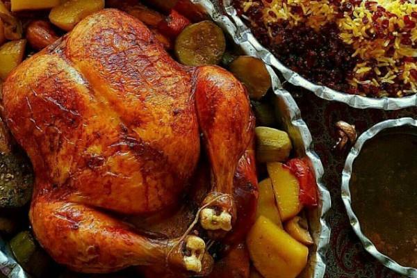 طرز-تهیه-مرغ-شکم-پر